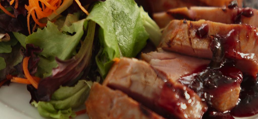 Strawberry Jalapeño Pork Tenderloin