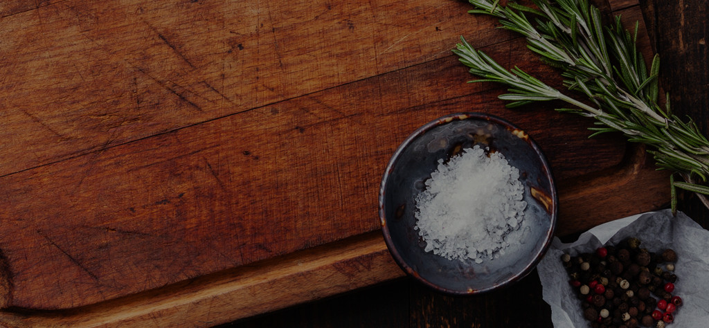 bowl of salt