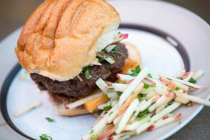 black pepper bacon burger