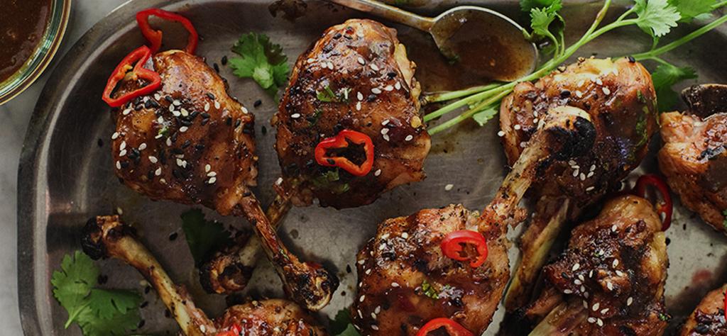 Grilled Lollipop Chicken Legs