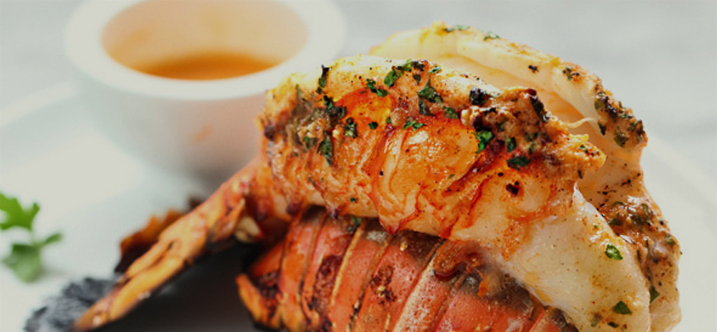 Grilled lobster with smoked paprika butter