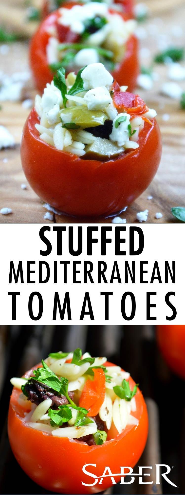stuffed mediterranean tomatoes