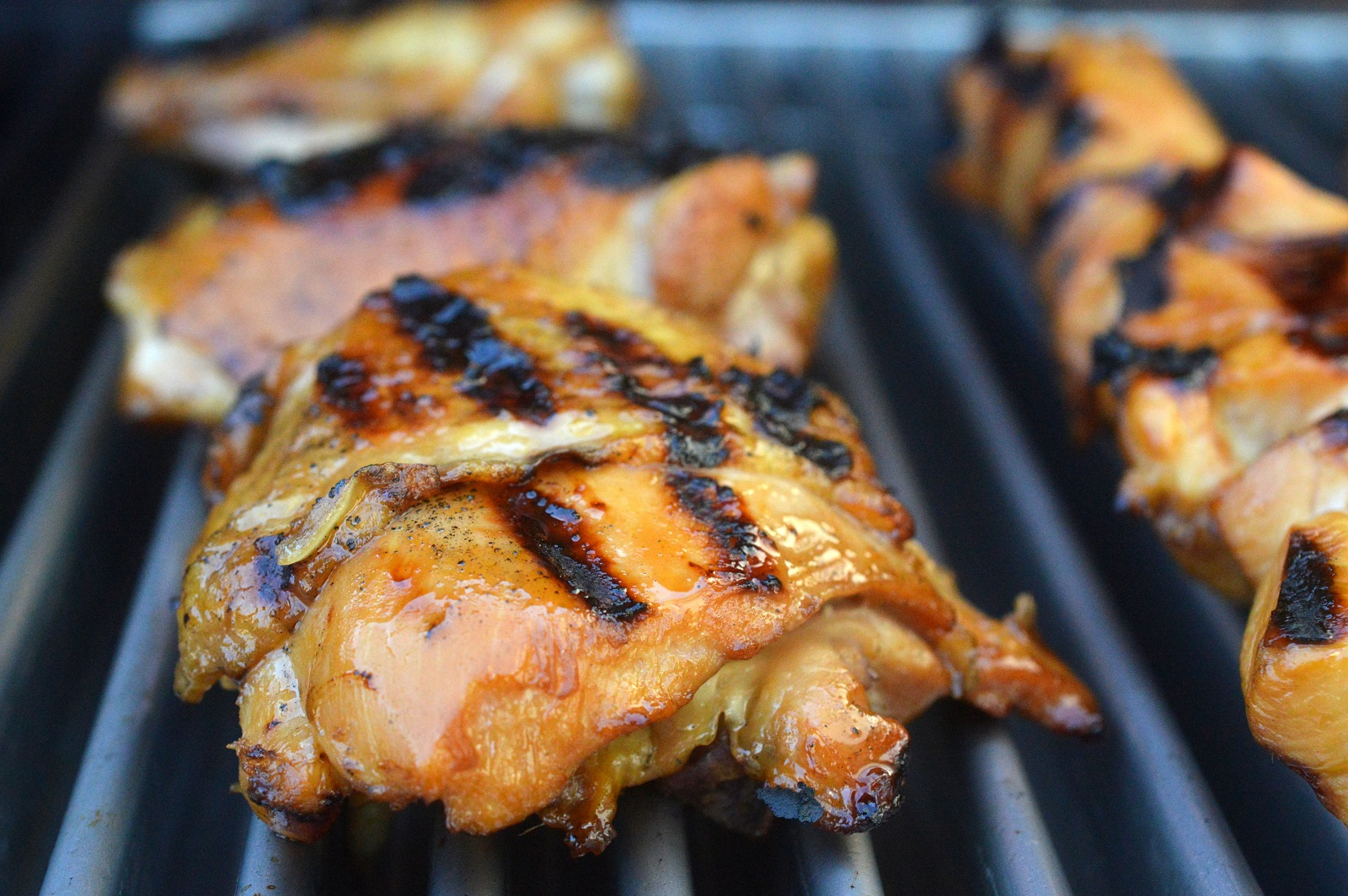 Hawaiian BBQ Chicken on the Grill Such a great party dish
