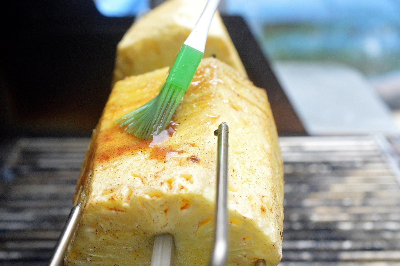 Rotisserie Grilled Pinepple - So good!