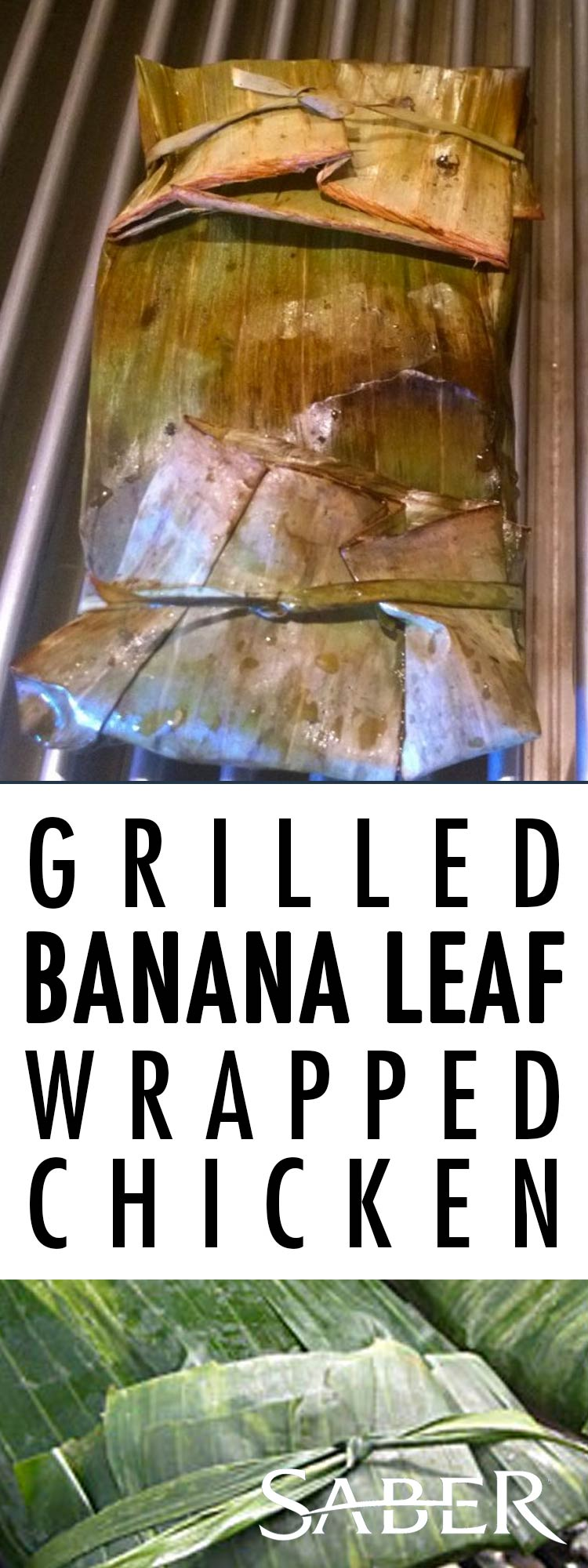 banana leaf wrapped chicken
