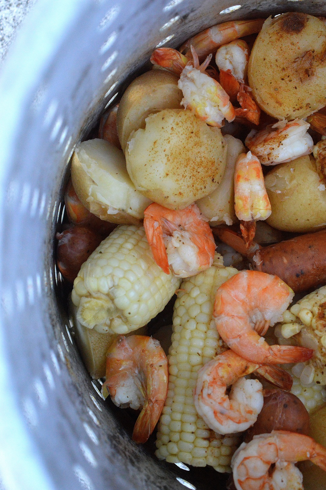 Shrimp Boil on the Grill