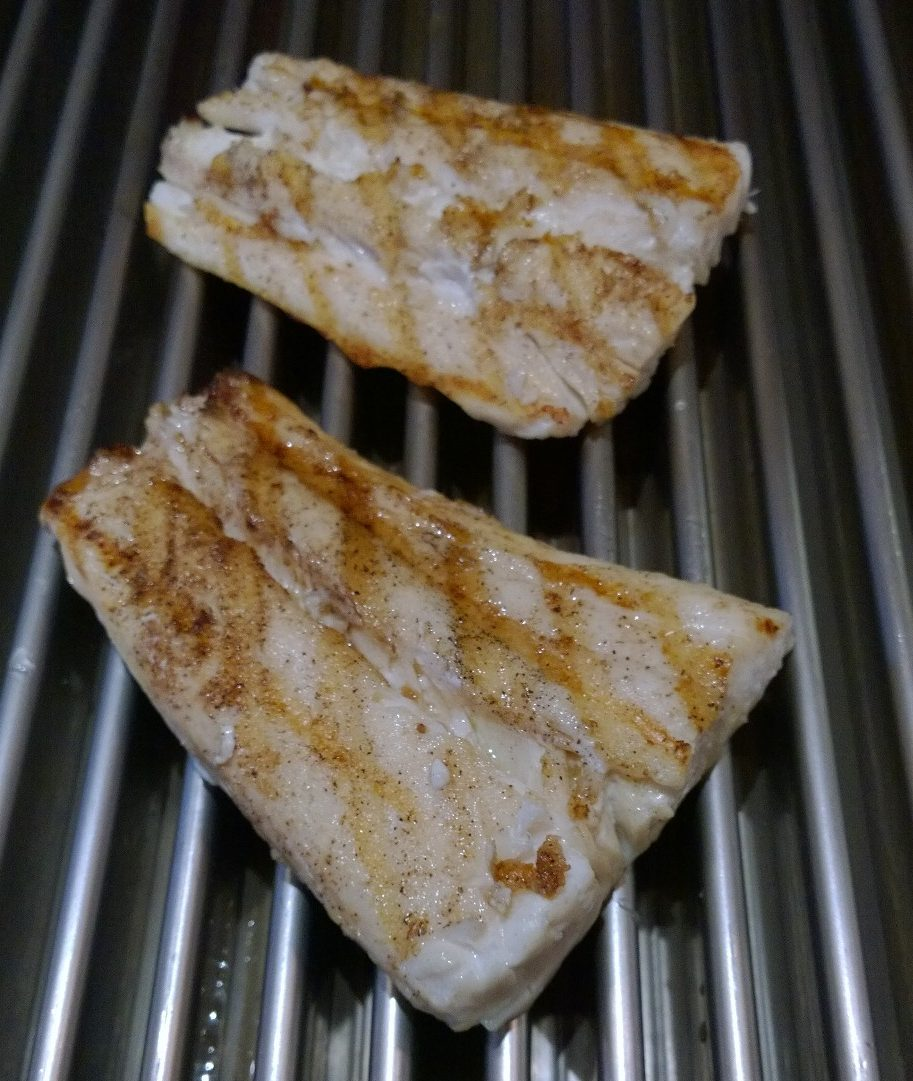 grill halibut