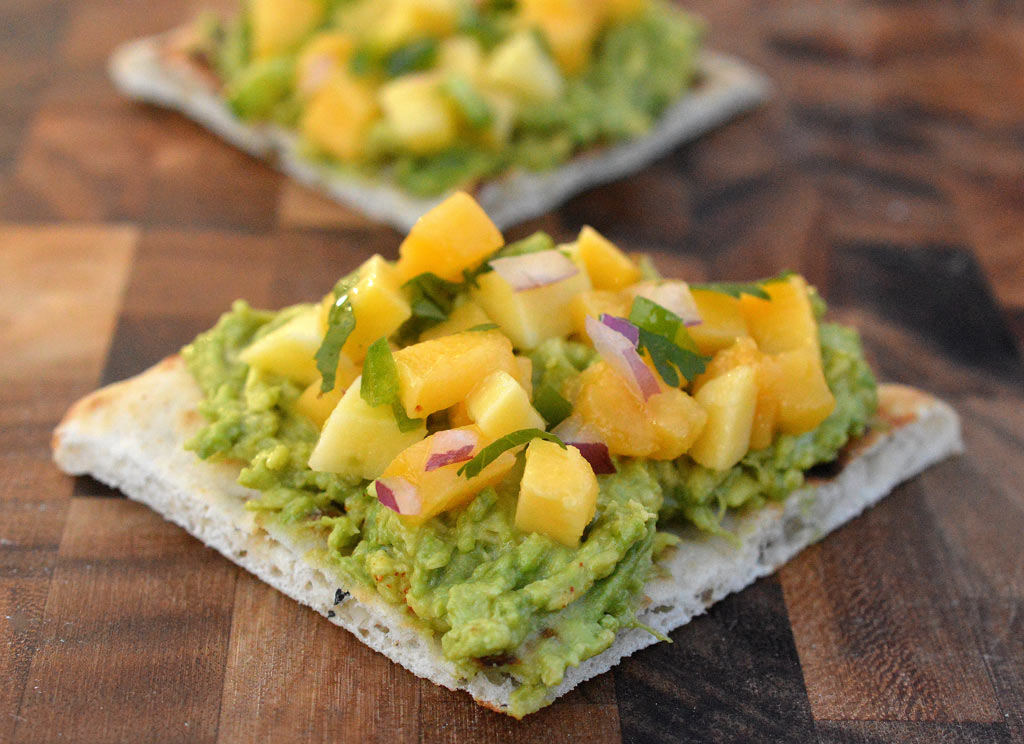 avocado-mango-toast
