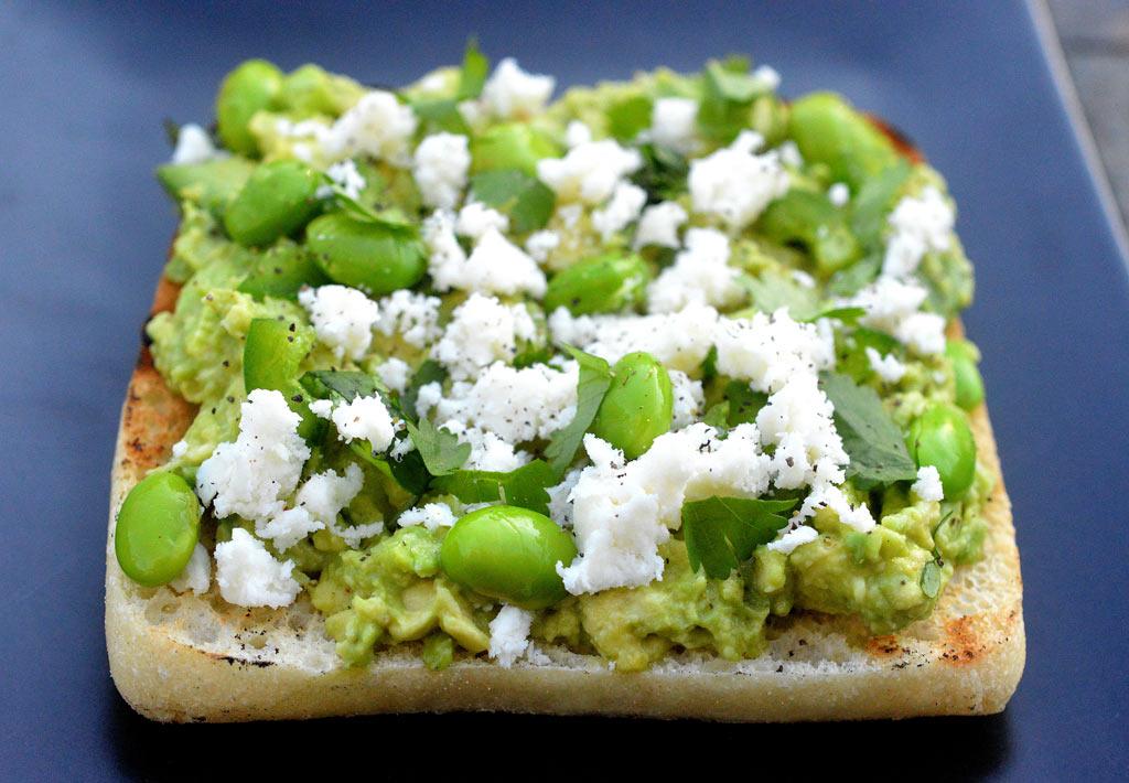 avocado-toast-with-cojita-cheese-jalepeno-edamame