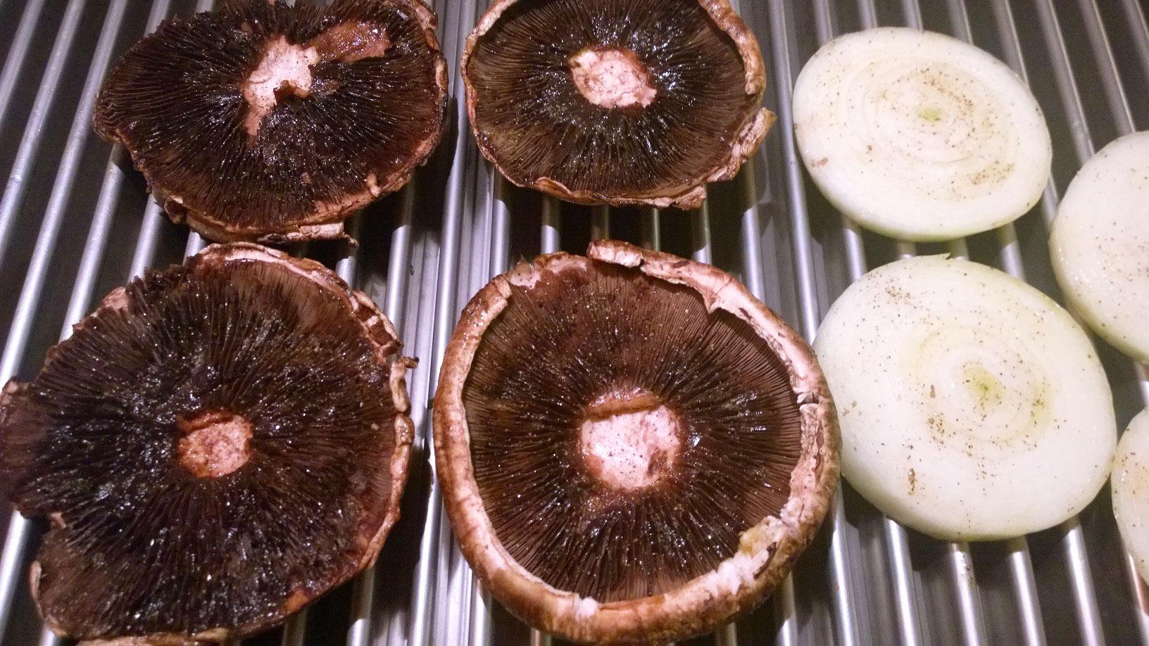 grilled portobella