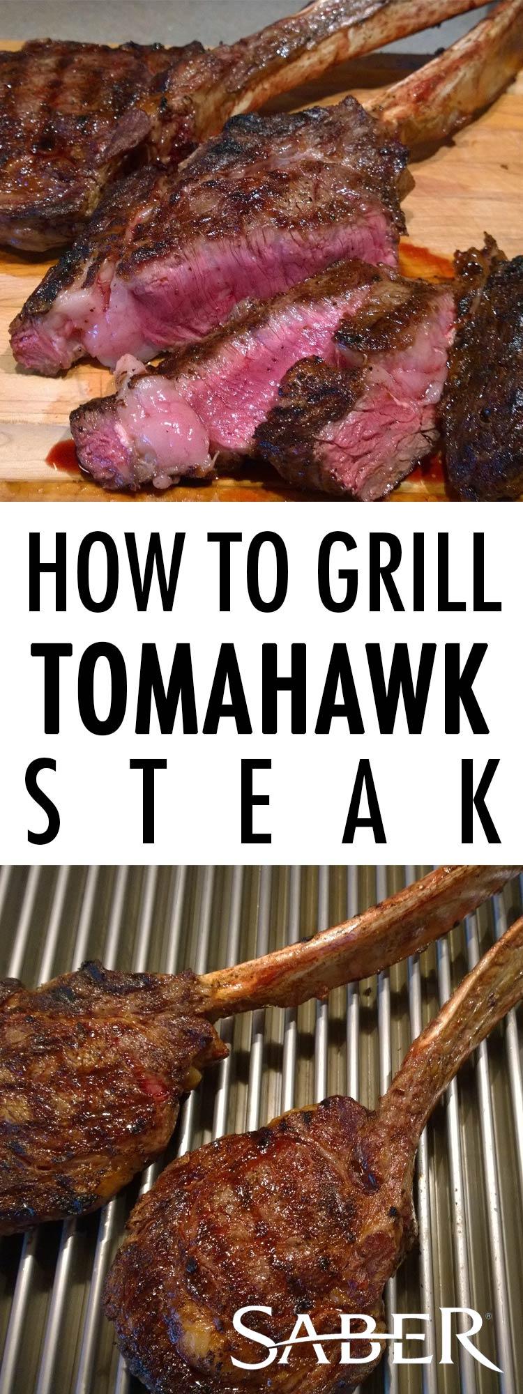 grill tomahawk steak