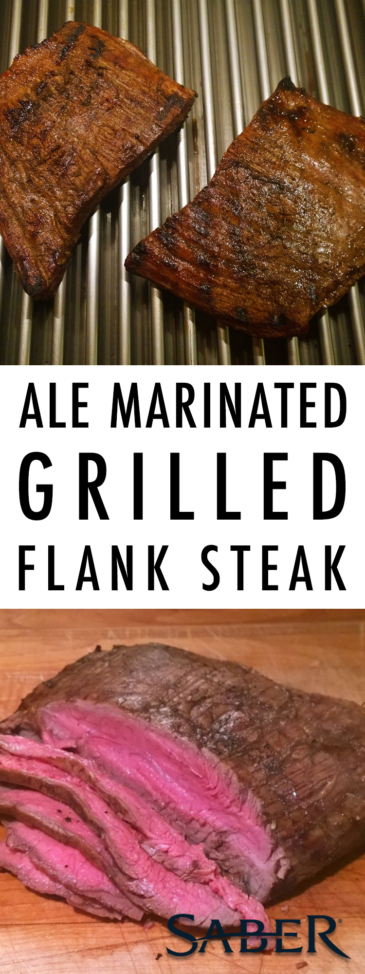ale marinated flank steak