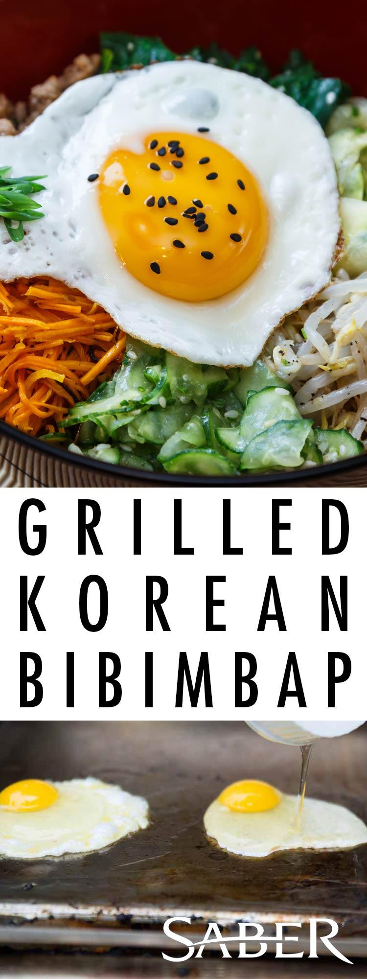 grilled korean bibimbap