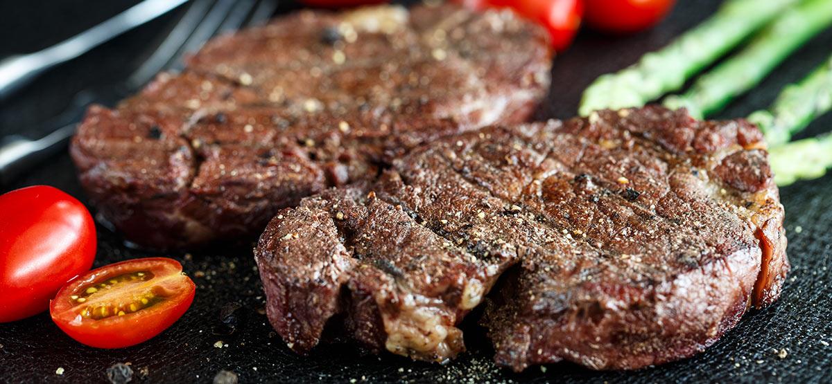grilled elk steak