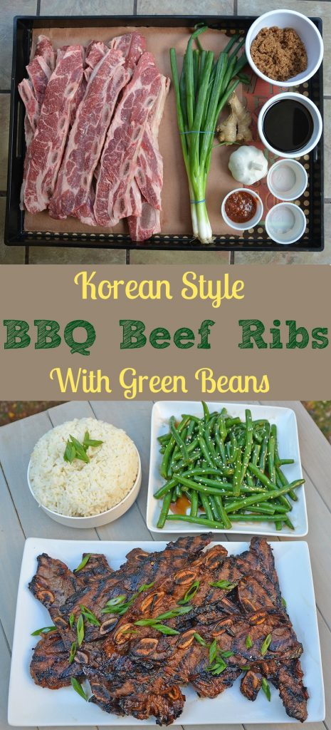 Recipe for Korean Style BBQ Beef Ribs