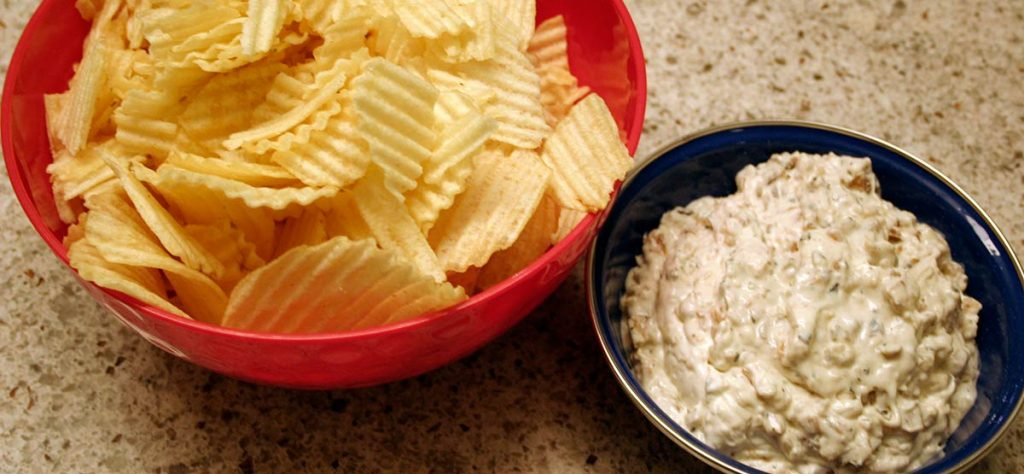 grilled french onion dip