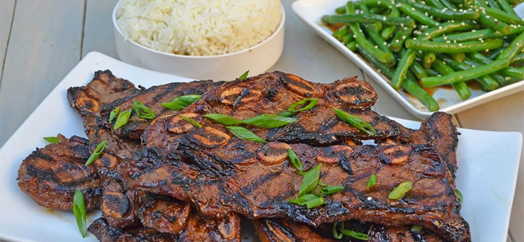 kalbi korean beef short rib