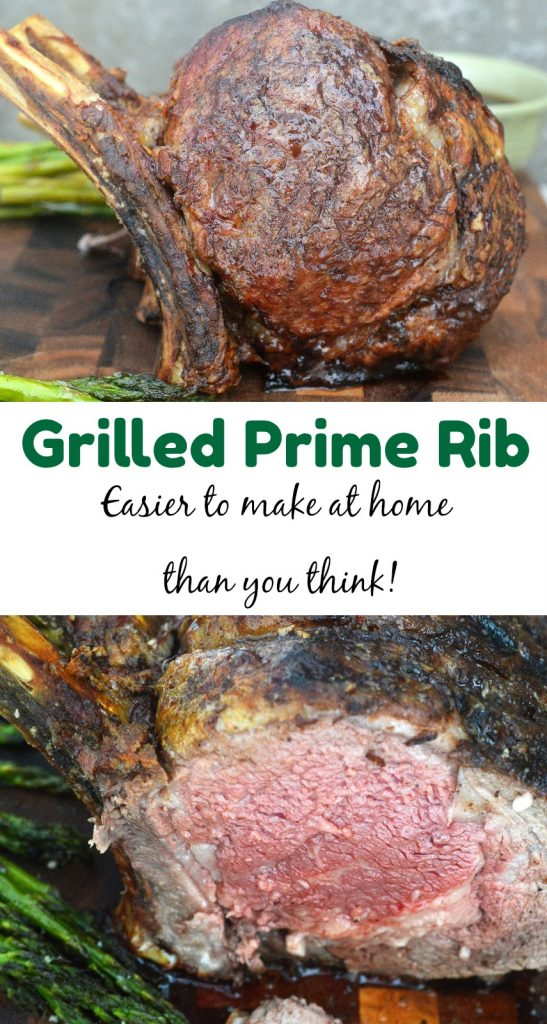 How To Grill The BEST Prime Rib