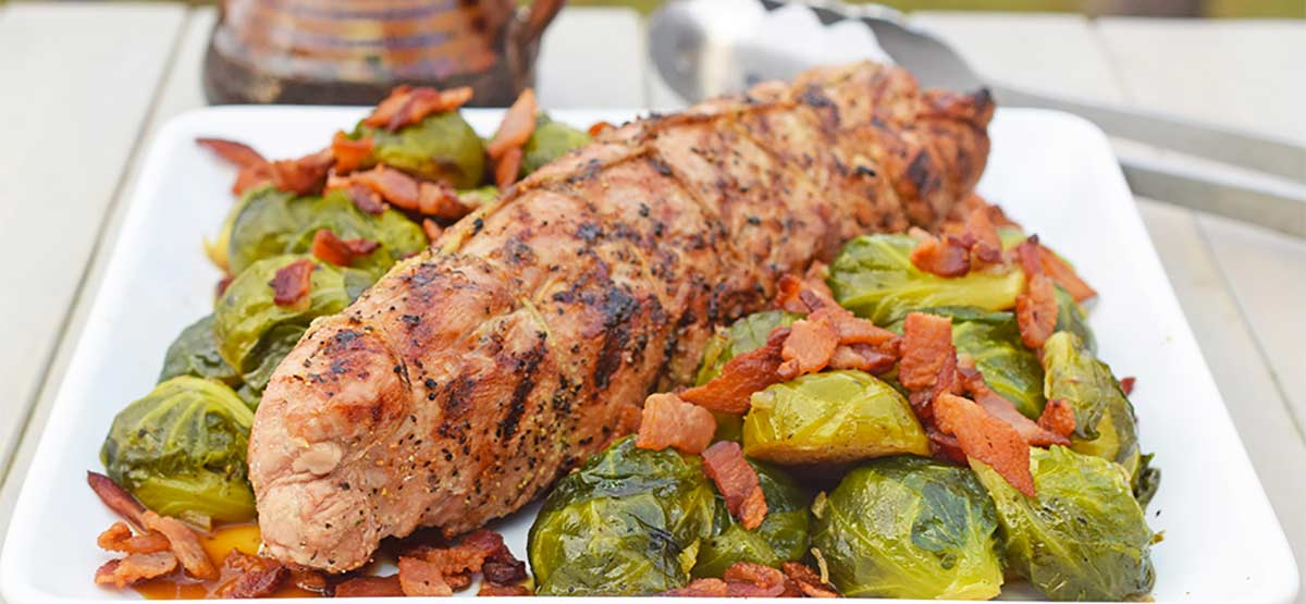 garlic pepper pork tenderloin